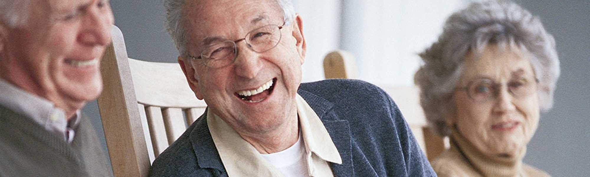 Elders Laughing