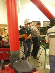 welding Students Standing Around